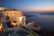 Sunset at Firostefani, Santorini.