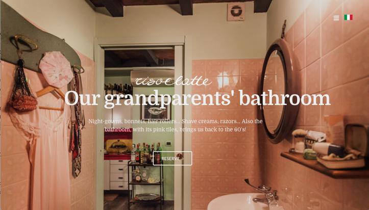 risoelatte bagno